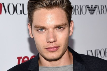 BEVERLY HILLS, CA - SEPTEMBER 26: Actor Dominic Sherwood attends the 12th Annual Teen Vogue Young Hollywood Party with Emporio Armani on September 26, 2014 in Beverly Hills, California. (Photo by Michael Buckner/Getty Images for Teen Vogue)